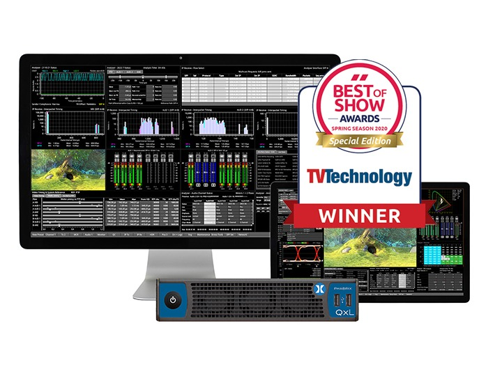 QxL Wins NAB 'Best of Show'