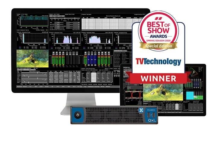QxL Wins NAB 'Best of Show'