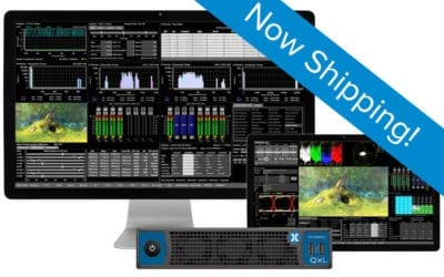 QxL 25G IP UHD ST 2110 rasterizer is now shipping