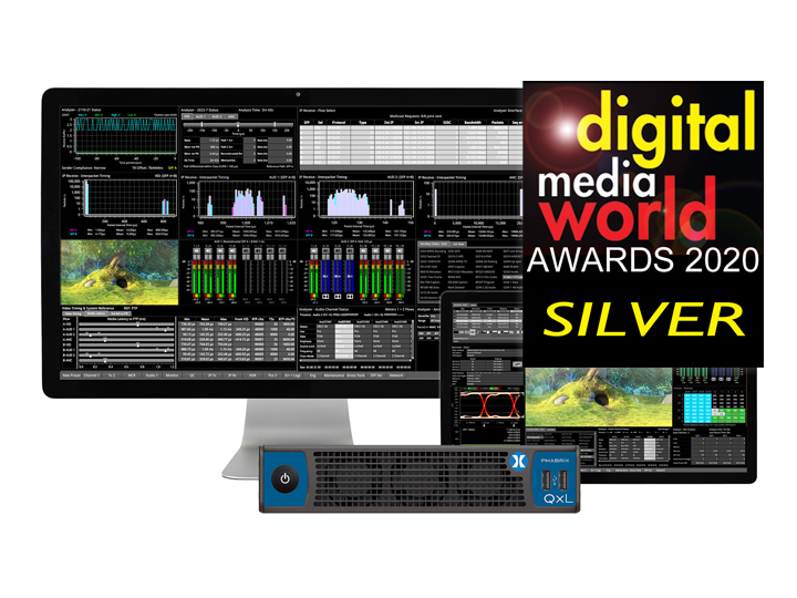 QxL Wins Silver for IP Broadcast Solutions at 2020 DMW Awards